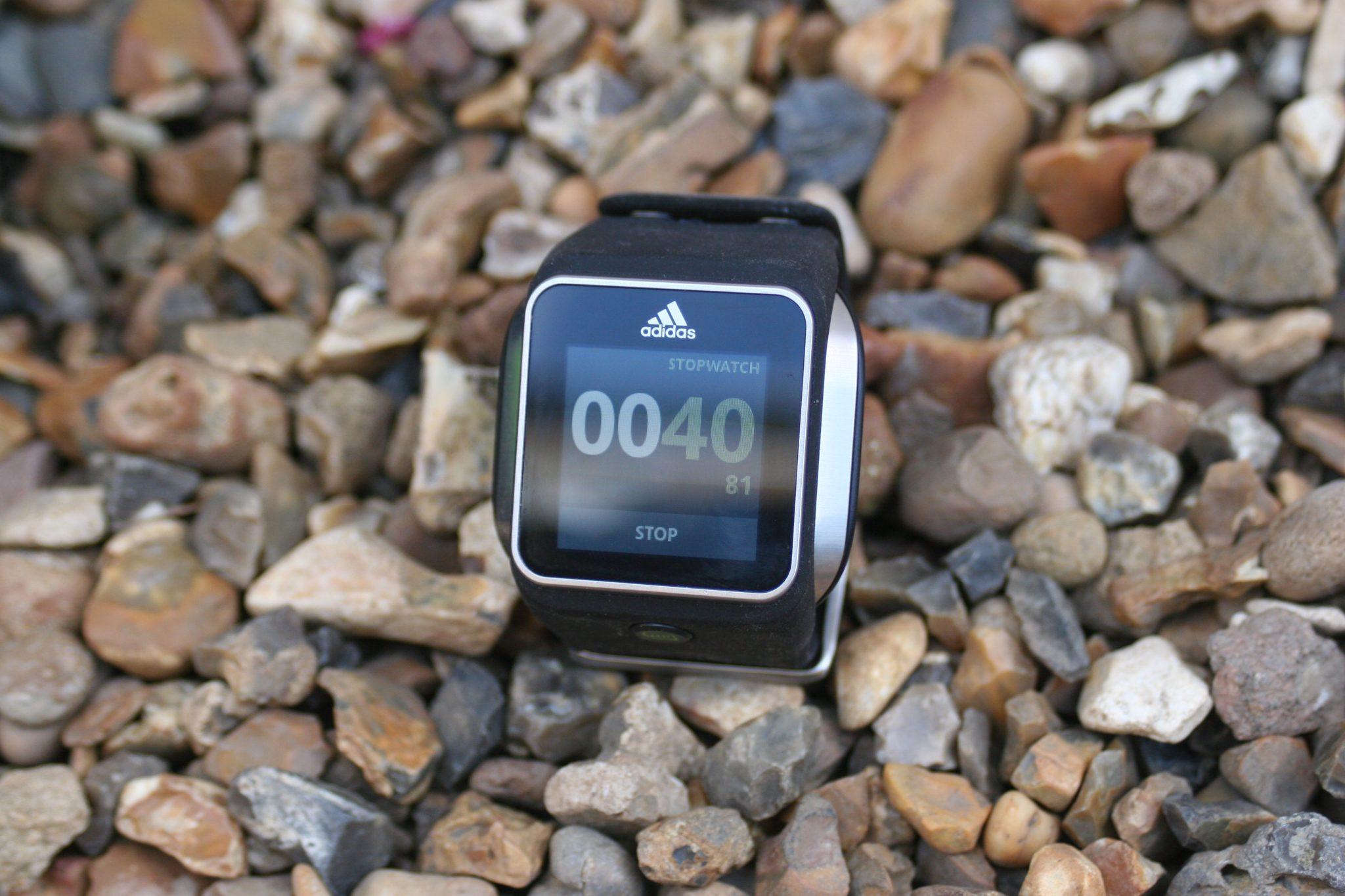 adidas miCoach Smart Run Optical HR and GPS Running Watch