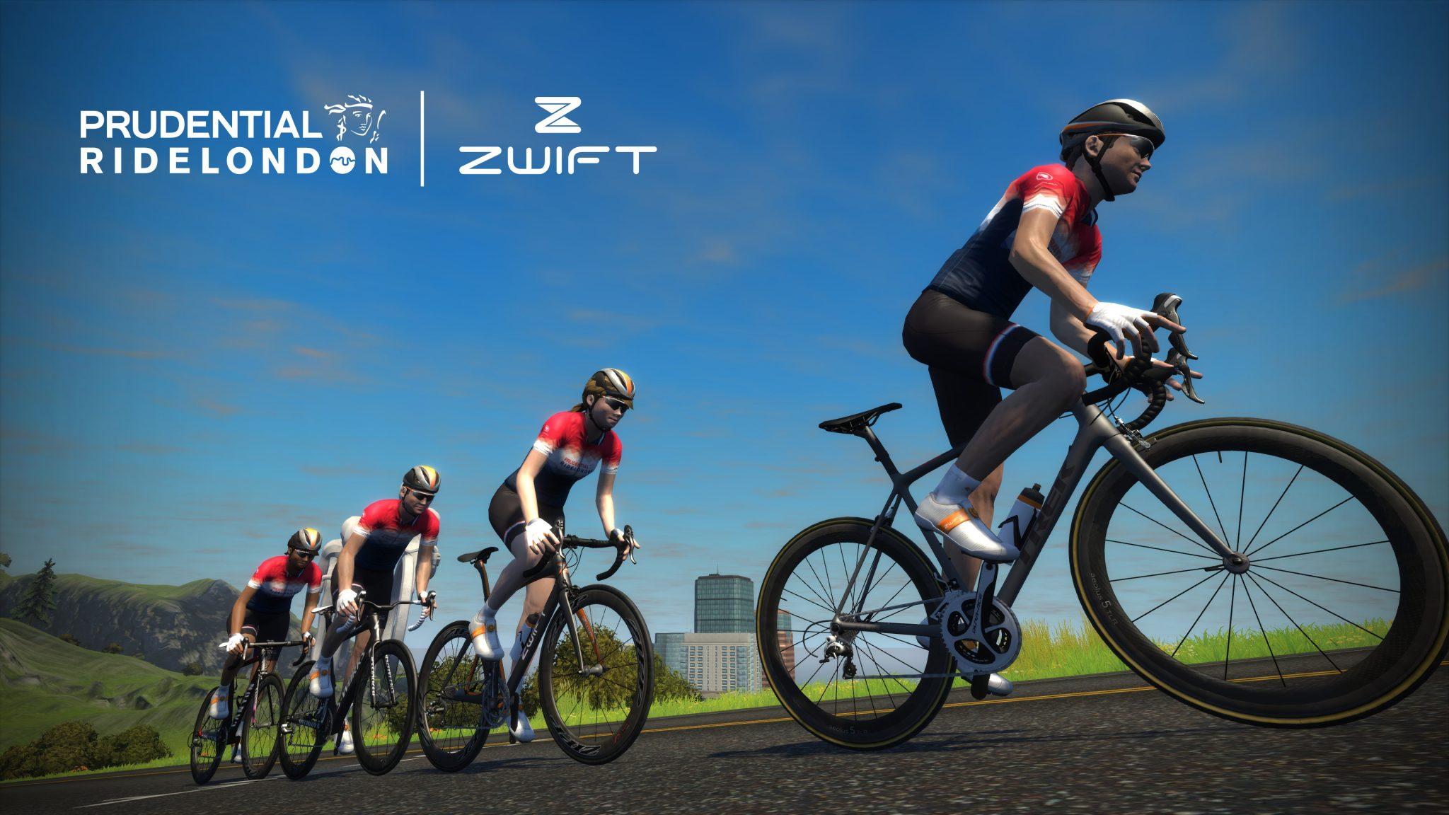 The Zwift Alternative - Prudential Ride London the5krunner