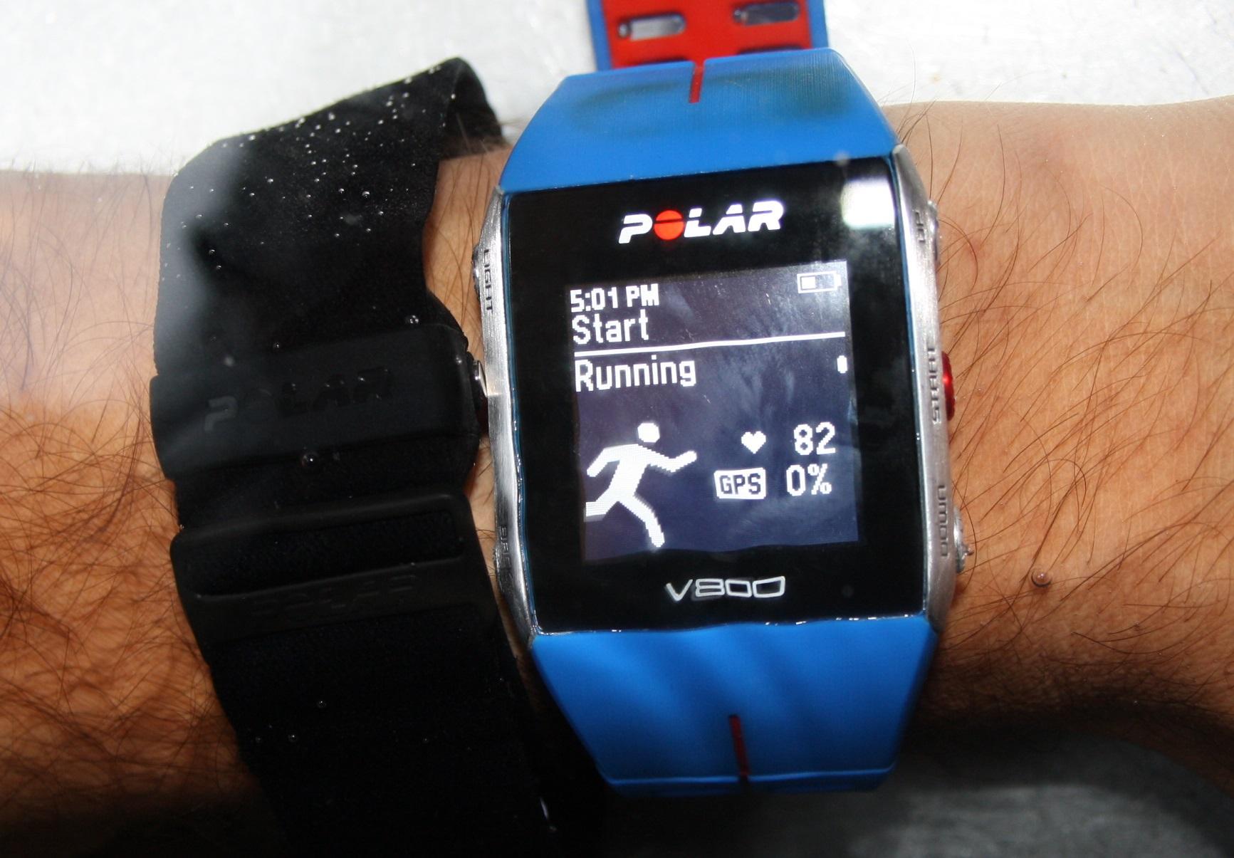 Polar OH1 Review: Transmitting underwater