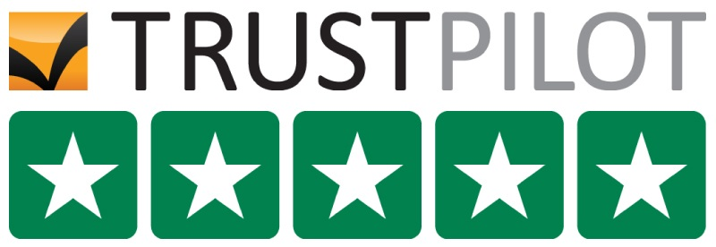 TRUSTPILOT power meter city 5 start logo rating