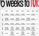 6 weeks to 10k training-plan