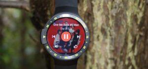 Best running watch with music Mobvoi Ticwatch S