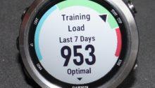 Training Load Forerunner 645