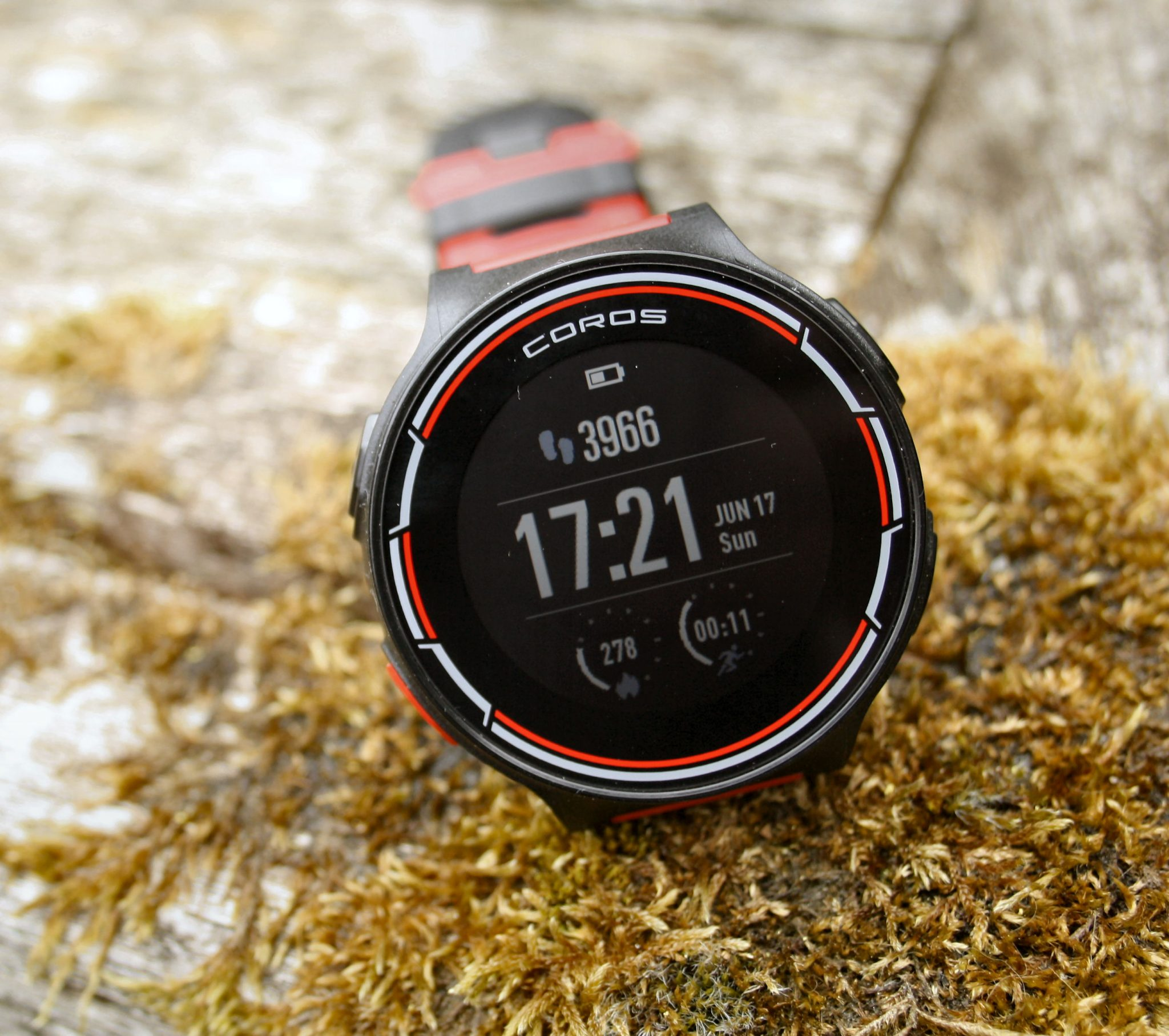 COROS Pace Review the5krunner